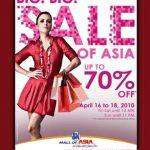Mall of Asia Big Big Sale!