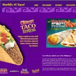 Register and win P500 GC at Taco Bell Philippines