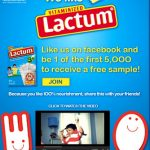 Get a Free Lactum sample pack