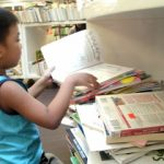 My son's first Fully Booked experienced at BGC