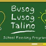 Jollibee Foundation launched BUSOG LUSOG TALINO School Feeding Program