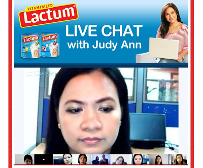 On chatting with Juday and exciting contest from Lactum