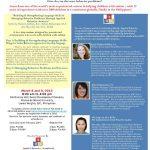 Seminar: Building & Strengthening Language Skills & Managing Behavior Problems Through Applied Behavior Analysis