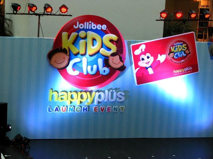 Jollibee Kids Club Happy Plus card Launch Event