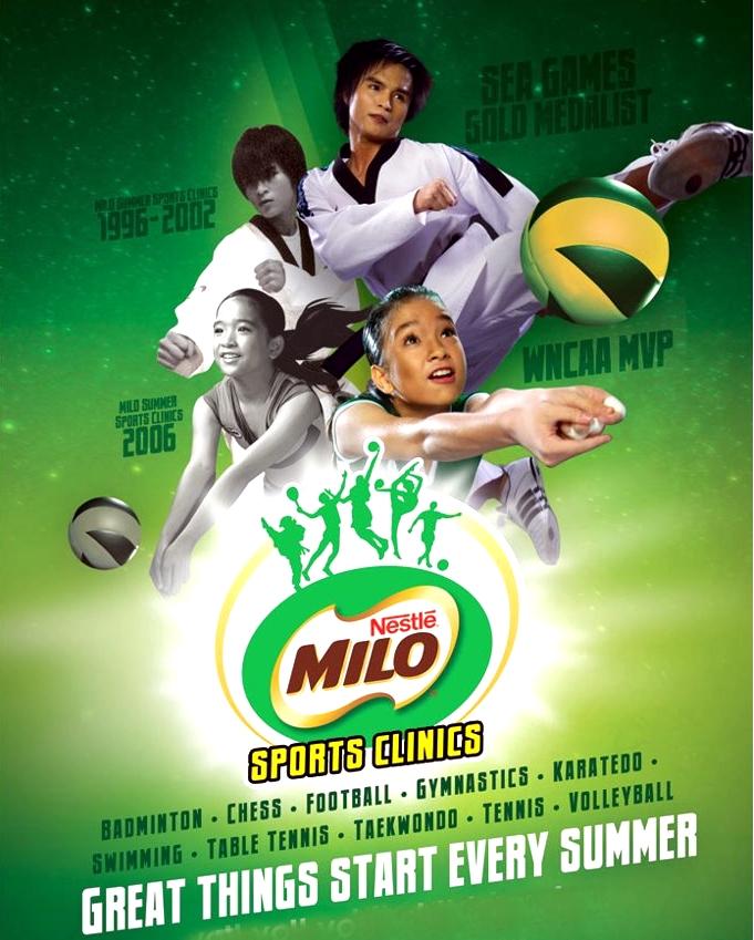 Milo Summer Sports Clinic 2014