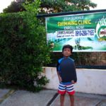 My Son's Swimming Class at Milo Summer Sports Clinic