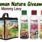 Win Human Nature Kid's Lunch Box and Natural Shampoo 500ml