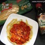 Tuna Fettuccine in Olive Oil