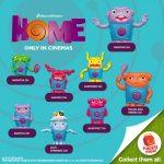 McDonald's Happy Meal: Dreamworks HOME Toys 2015