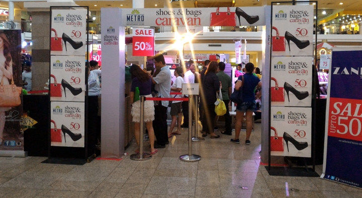 Metro Department Store Shoes and Bags Sale in Alabang