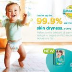 Mommies! Join the Pampers Baby Dry Skin Dryness Challenge and Win your Baby's First Prizes