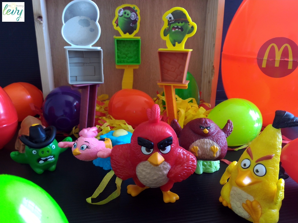 Angry Birds Toys : Mcdonald s happy meal angry birds