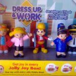 Jolly Kiddie Meal: Dress Up & Work Toy Set 2017